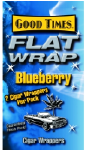 Good Times Blueberry Flat Wraps 2/25's 50ct