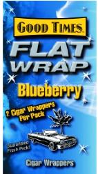Good Times Blueberry Wraps 2/25's 50ct