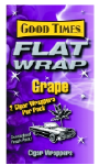 Good Times Grape Flat Wraps 2/25's 50ct