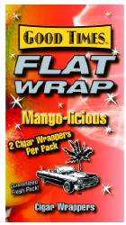 Good Times Mango Wraps 2/25's 50ct