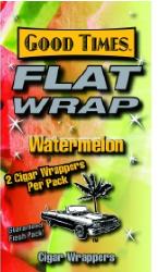 Good Times Watermelon Flat Wraps 2/25's 50ct