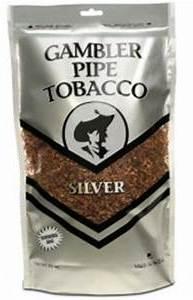 Gambler Silver Pipe Tobacco 16oz bags