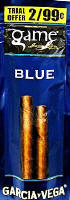 Game Blue Cigarillo 2 for 99 Cigars