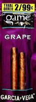 Game Grape Cigarillo 2 for 99 Cigars