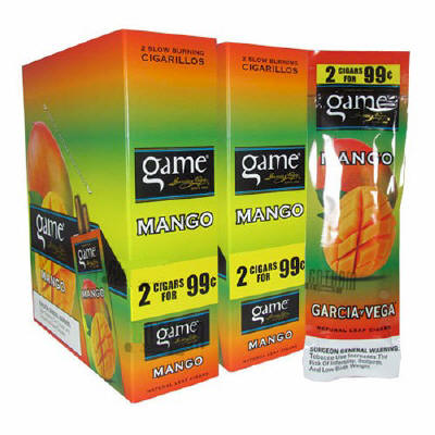 Game Mango Cigarillo 2 for 99 Cigars