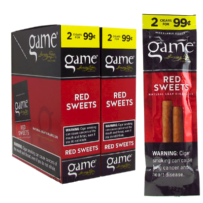Game Red Cigarillo 2 for 99 Cigars