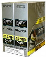 Game Silver Cigarillo 2 for 99 Cigars