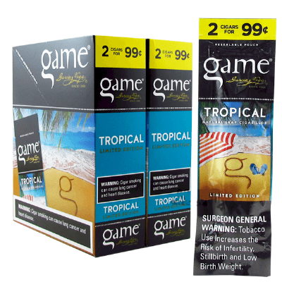 Game Tropical Cigarillo 2 for 99 Cigars