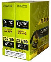 Game White Grape Cigarillo 2 for 99 Cigars