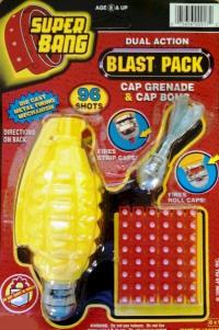 Super Bang Hand Grenade & Cap Bomb