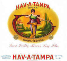 Hav-a-Tampa Jewels Original Cigars 10/5's