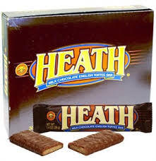 Heath Candy Bars 24ct-1.4oz