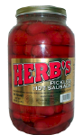 Herb's Hot Pickled Sausage
