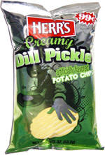 Herr's Creamy Dill Potato Chips