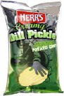 Herr's Creamy Dill Pickle Potato Chips