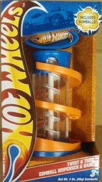 Hot Wheels Gumball Dispenser