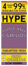 Hype Purple Reserve Cigarillos 60ct