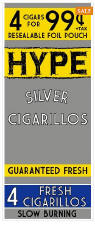Hype Silver Cigarillos 60ct