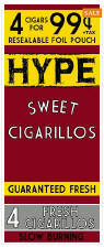 Hype Sweet Cigarillos 60ct