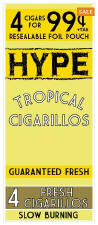 Hype Tropical Cigarillos 60ct