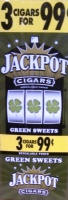 Jackpot Green Sweet Cigars 15/3's Cigarillo's