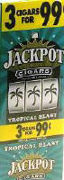 Jackpot Tropical Blast Cigars 15/3's Cigarillo's