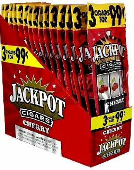 Jackpot Cherry Cigars 15/3's Cigarillo's