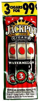 Jackpot Watermelon Cigars 15/3's Cigarillo's
