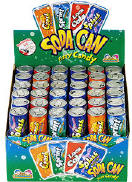 Kidsmania Soda Can Candy 12ct