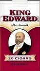 King Edward Cherry Little Filtered Cigars 10/5's - 200 Cigars