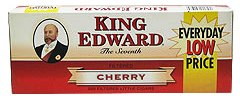 King Edward Cherry Little Filtered Cigars 10/20's - 200 cigars