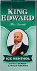 King Edward Menthol Little Filtered Cigars 10/5's - 200 Cigars