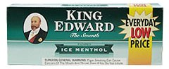 King Edward Menthol Little Filtered Cigars 10/5's - 200 Cigars