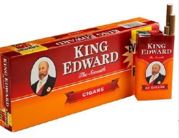 King Edward Original Little Filtered Cigars 10/5's - 200 Cigars