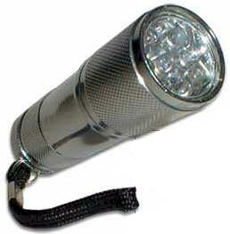 Led Flashlight - Super Bright 8 Led Light