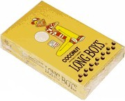Long Boys Coconut Taffy Candy Sticks 48 Count