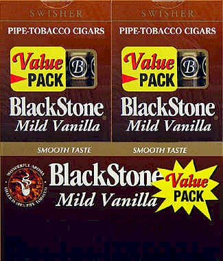BLACKSTONE Mild Vanilla CIGARS VALUE PACK. 20/5PKS