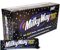 Milky Way Midnight Candy Bars  - 24 bars per display box