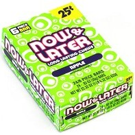 Now and Later Apple Candy Taffy 24ct boxes