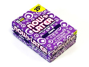 Now and Later Grape Candy Taffy 24ct boxes