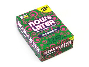 Now and Later Watermelon Candy 24ct