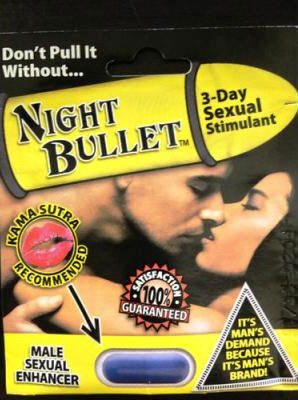 Night Bullet Male Sexual Enhancement