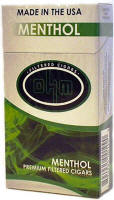 OHM Menthol Little Filtered Cigars 10/20's-200 cigars