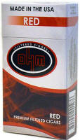 OHM Red Little Filtered Cigars 10/20's-200 cigars