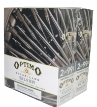 Optimo Silver Cigarillos 15/2's - 60 cigars