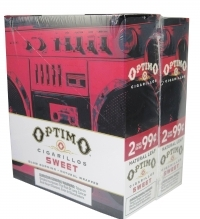 Optimo Sweet Cigarillos 15/2's - 60 cigars