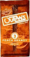 Outlaws Peach Brandy Cigars 10/3's - 30 cigars
