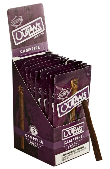 Outlaws Campfire Cigars 10/3's - 30 cigars