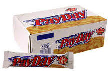Pay Day Candy Bar  - 24 bars per display box