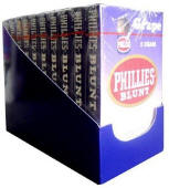 Phillie Blunt Grape Cigars 10/5's - 50 cigars